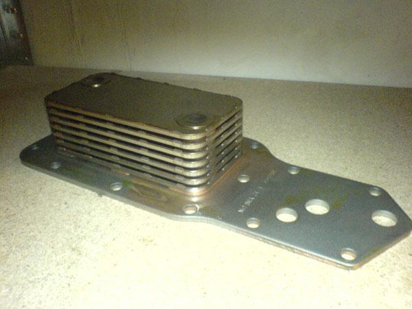 Теплообменник на двигатель Cummins 6BT-5.9C