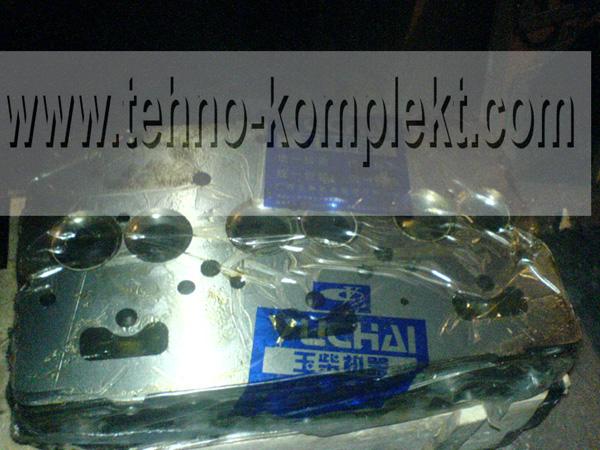 Головка блока цилиндров (ГБЦ) на двигатель Yuchai yc6108