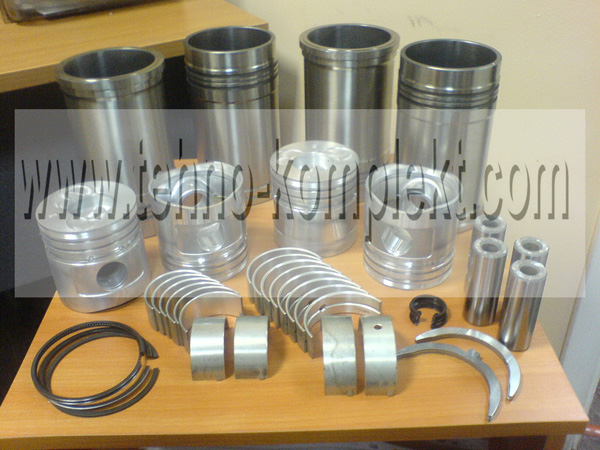 Гильзопоршень  490BPG дизельных двигателей Xinchai A490BPG, 490BPG, 490BT, NB485BPG