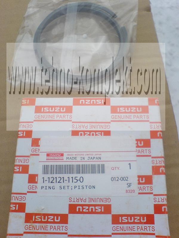 Комплект колец поршневых 1-12121-115-0