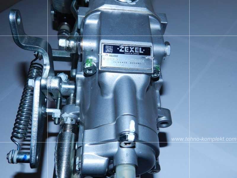 Дизельный двигатель Komatsu 6D125