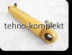 Рулевой гидроцилиндр для погрузчика XGMA XiaGong XG955 (10C0045, 10C0044) XG-955-II-L