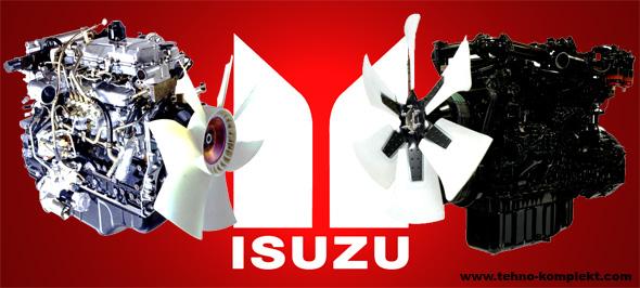 Запчасти на дизельные двигатели ISUZU исузу