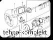 2674A127 турбокомпрессор на двигатель Perkins 1006-6T